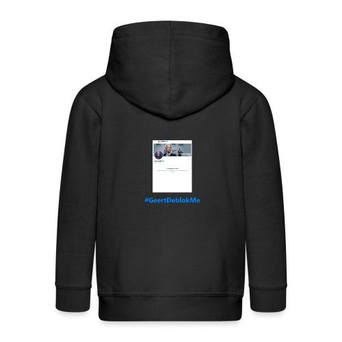 #GeertDeblokMe - Kinderen Premium jas met capuchon