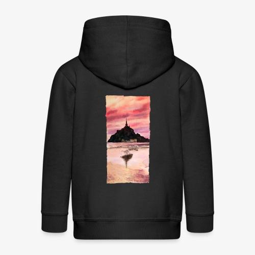 Mont St Michel - Kids' Premium Zip Hoodie