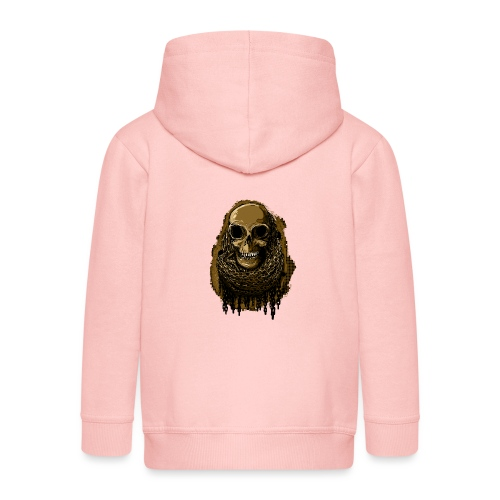 Skull in Chains YeOllo - Kids' Premium Zip Hoodie