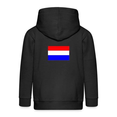 vlag nl - Kinderen Premium jas met capuchon