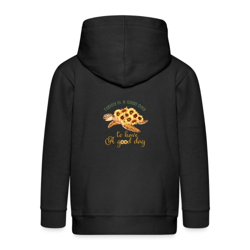 Today Is a God To Have A Good Day - Kids' Premium Zip Hoodie
