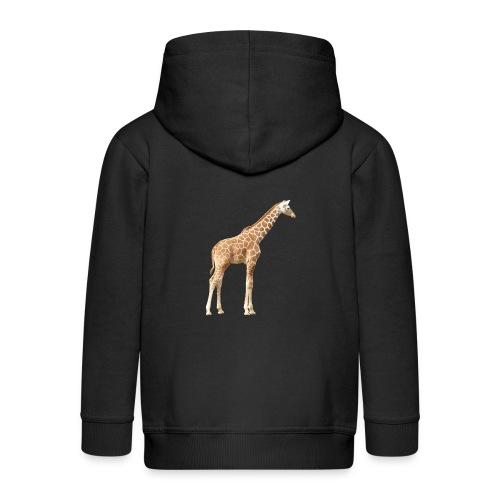 Giraffe - Kinder Premium Kapuzenjacke