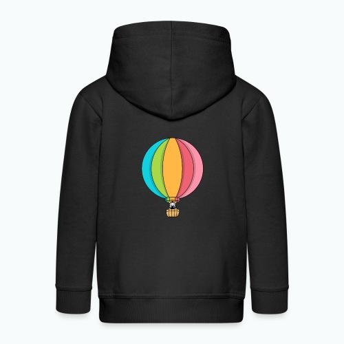 Zebra Zach Air Balloon - Premium-Luvjacka barn