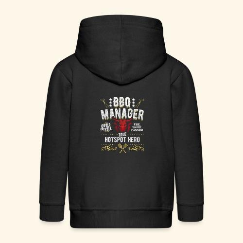 BBQ Manager - Kinder Premium Kapuzenjacke