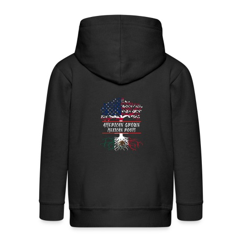 American Grown Mexican Root - Kids' Premium Zip Hoodie