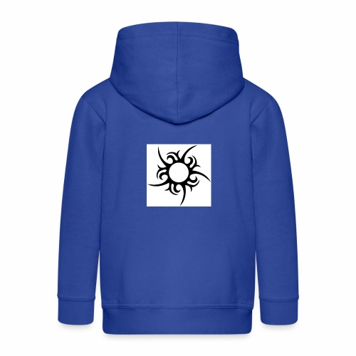 tribal sun - Kids' Premium Hooded Jacket