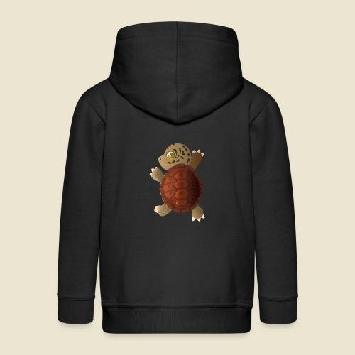 Bébé tortue - Veste à capuche Premium Enfant