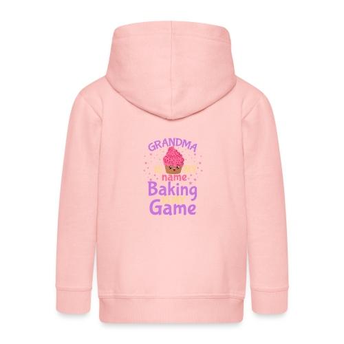 Grandma Is My Name Baking Is My Game - Kids' Premium Zip Hoodie