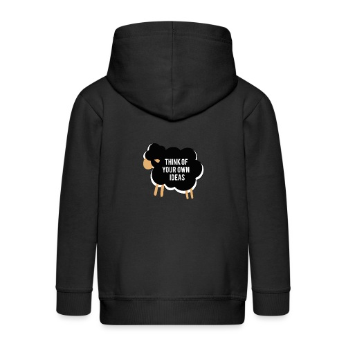 Think of your own idea! - Kids' Premium Zip Hoodie