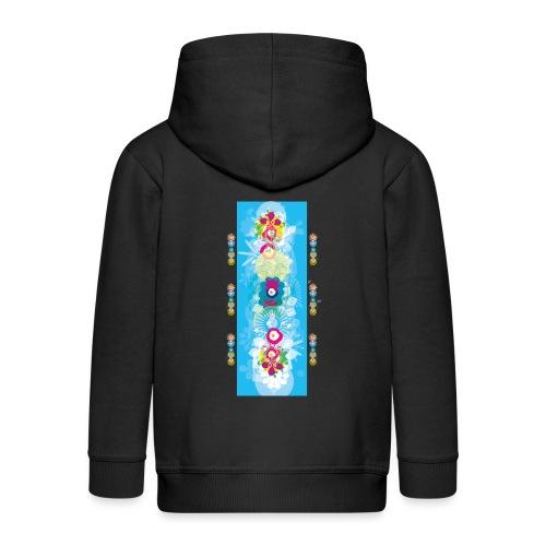 melange color - Veste à capuche Premium Enfant