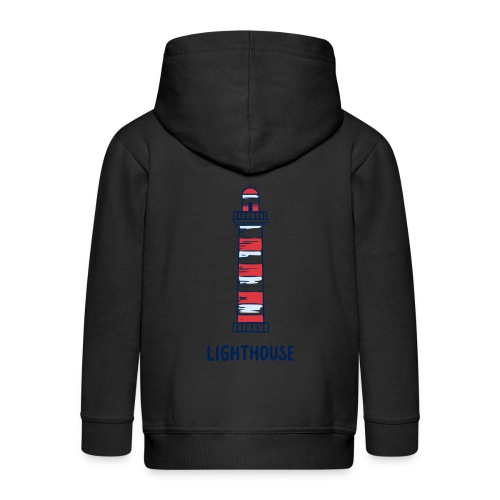 Lighthouse - Kinder Premium Kapuzenjacke