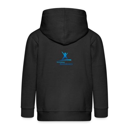 vbi logo transparant - Kinderen Premium jas met capuchon