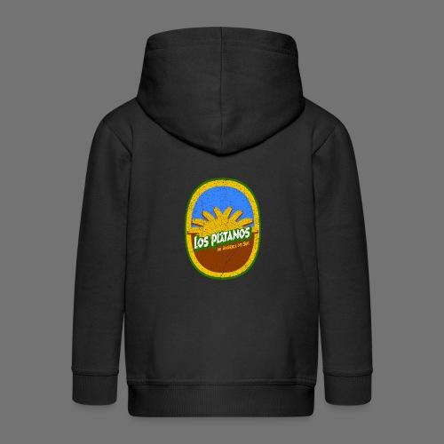 Banana Label Los Platanos (oldstyle) - Kids' Premium Zip Hoodie