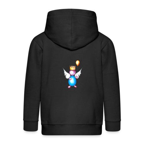 Mettalic Angel happiness - Veste à capuche Premium Enfant