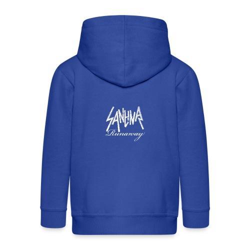 SANTINA gif - Kids' Premium Zip Hoodie