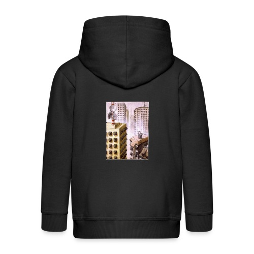 TV Nation - Kids' Premium Zip Hoodie