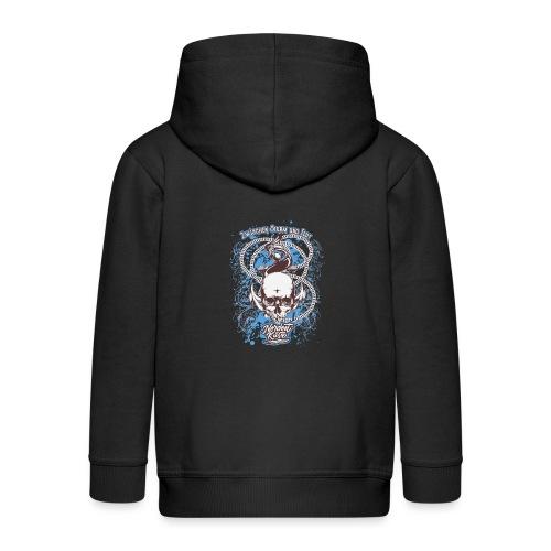 Skull Anker Design Art - Kinder Premium Kapuzenjacke