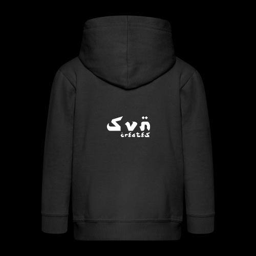 SVN Shirt logo Arabic 1 png - Kinderen Premium jas met capuchon