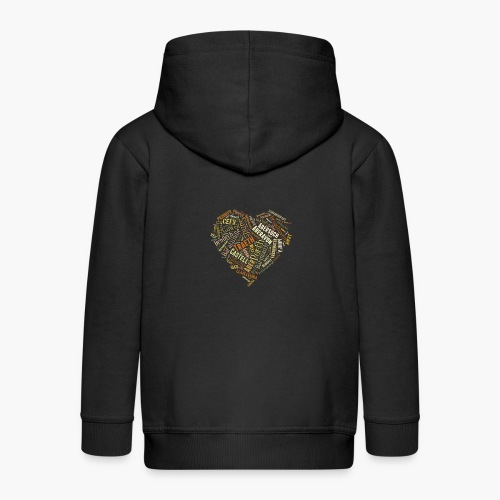 Welsh Beaches - Kids' Premium Zip Hoodie