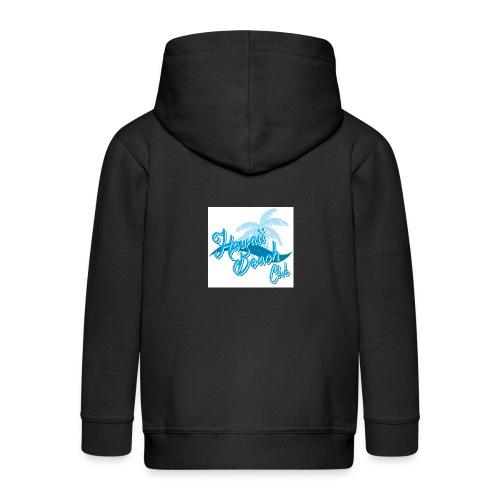 Hawaii Beach Club - Kids' Premium Hooded Jacket