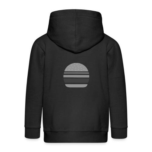 Logo_panhamburger_gris - Veste à capuche Premium Enfant