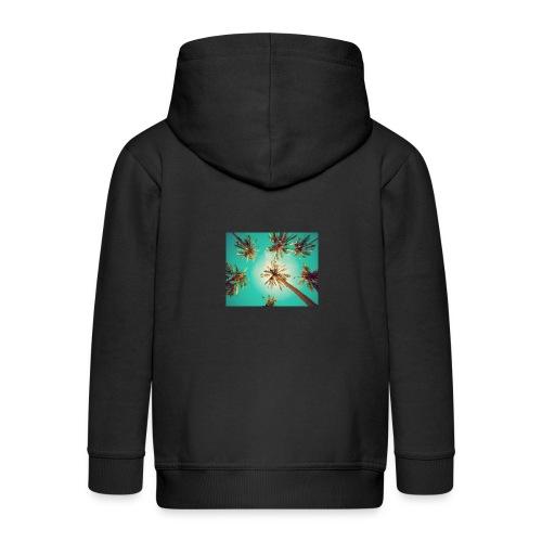 palm pinterest jpg - Kids' Premium Zip Hoodie