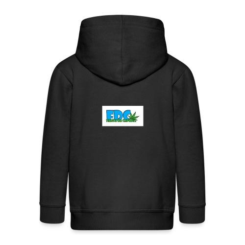 Logo_Fabini_camisetas-jpg - Chaqueta con capucha premium niño