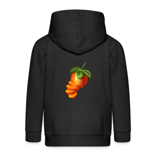 Sliced Sweaty Fruit - Kids' Premium Zip Hoodie