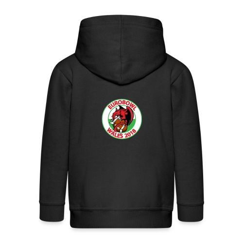 Eurobowl Wales 2018 - Kids' Premium Zip Hoodie