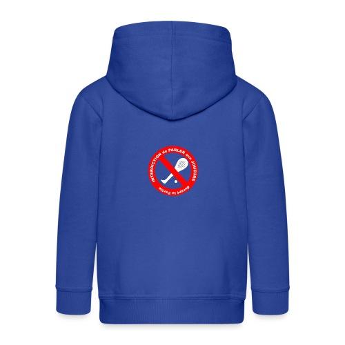 Noplay1 png - Veste à capuche Premium Enfant