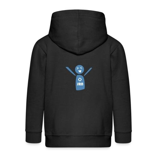 JR Mascot - Kids' Premium Zip Hoodie