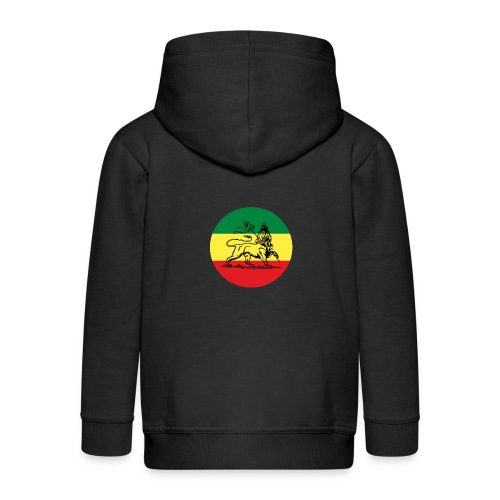 Lion of Judah - Reggae - Kinder Premium Kapuzenjacke
