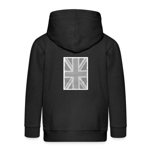 Grey Britainia - Kids' Premium Zip Hoodie