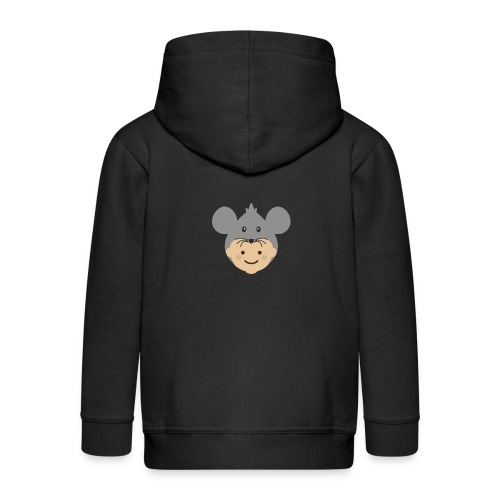 Mr Mousey | Ibbleobble - Kids' Premium Zip Hoodie