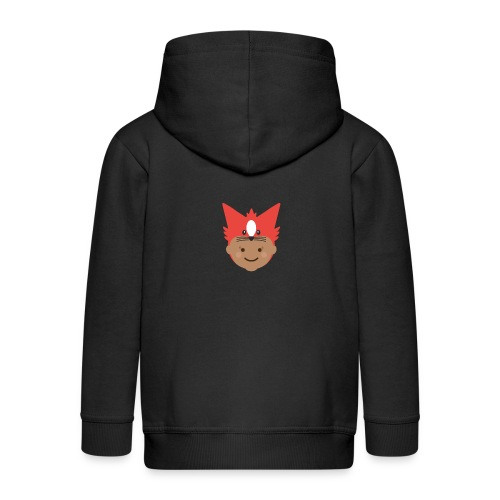 Florence the Fox | Ibbleobble - Kids' Premium Zip Hoodie