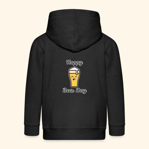 happy beer day - Veste à capuche Premium Enfant
