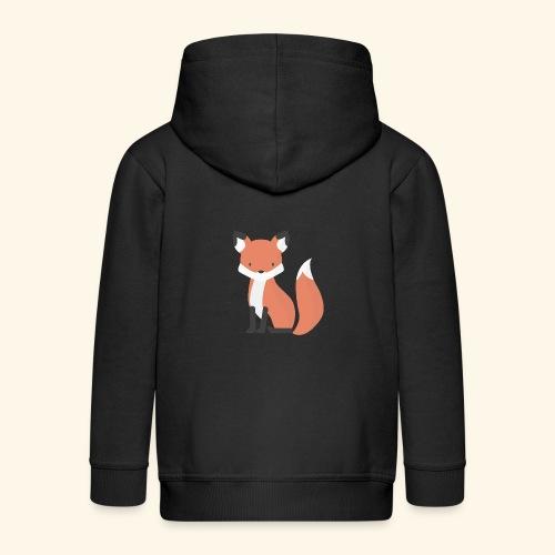 Fox Fox - Kids' Premium Zip Hoodie