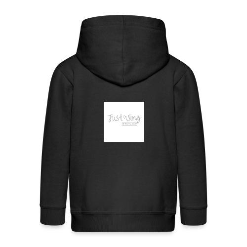 Just Sing - Kids' Premium Hooded Jacket