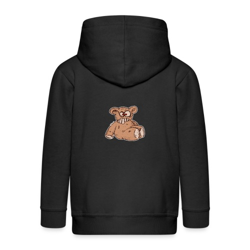 Bad Peluche Crazy Teddy (petit) - Veste à capuche Premium Enfant