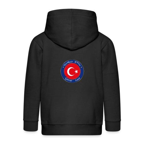 Turkey FIRST - Kids' Premium Zip Hoodie