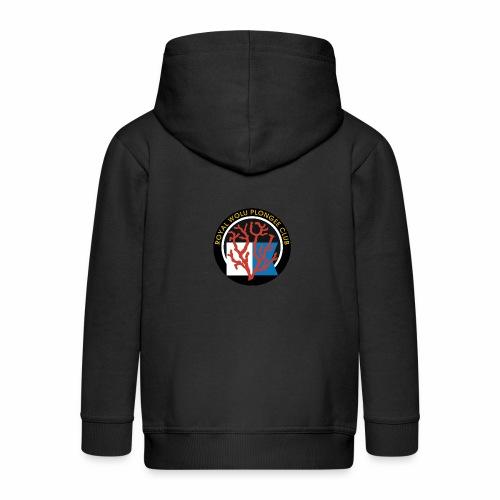 Royal Wolu Plongée Club - Veste à capuche Premium Enfant