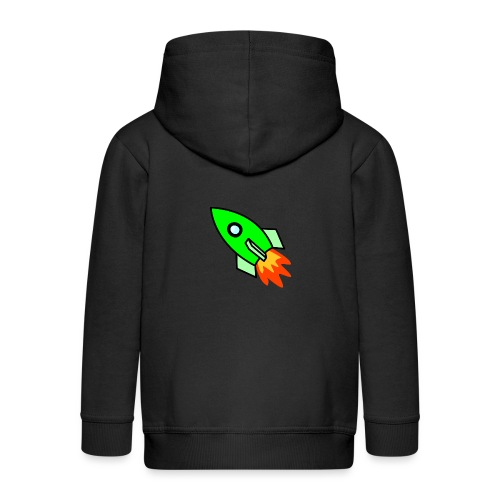 neon green - Kids' Premium Hooded Jacket