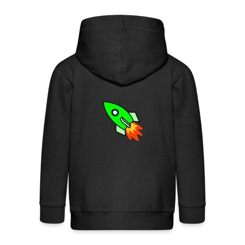 neon green - Kids' Premium Zip Hoodie