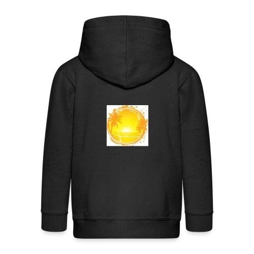 Sunburn - Kids' Premium Zip Hoodie