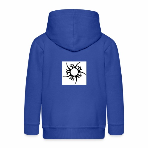 tribal sun - Kids' Premium Zip Hoodie