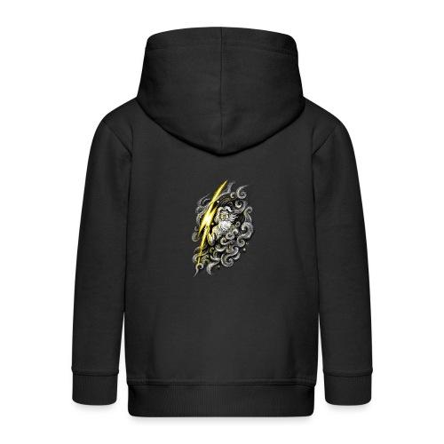 Zeus - Kids' Premium Zip Hoodie