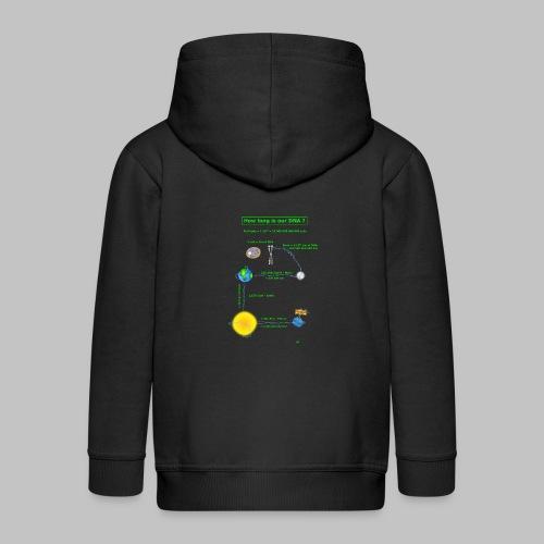 DNA lenght - Kids' Premium Zip Hoodie