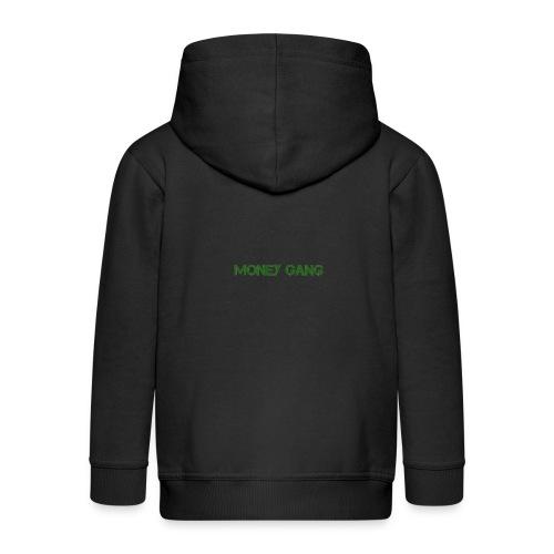 money gang rug tr gif - Kinderen Premium jas met capuchon