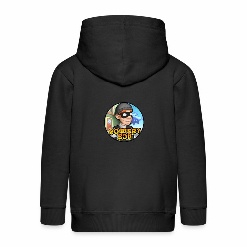 Robbery Bob Button - Kids' Premium Zip Hoodie