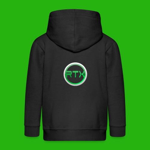Logo SnapBack - Kids' Premium Zip Hoodie